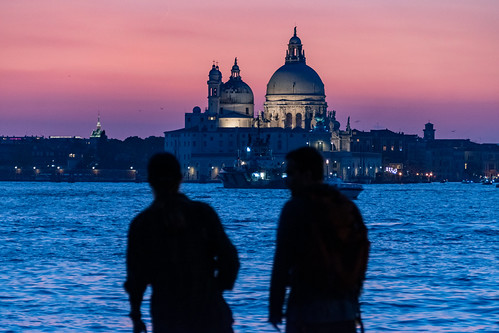 Venice (Italy) towards the night