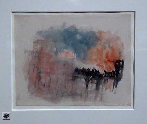 J.M.W. Turner - Vignette Study for `Kosciusco` for Campbell`s `Poetical Works`