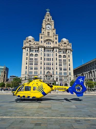 Air Ambulance & Liver Building