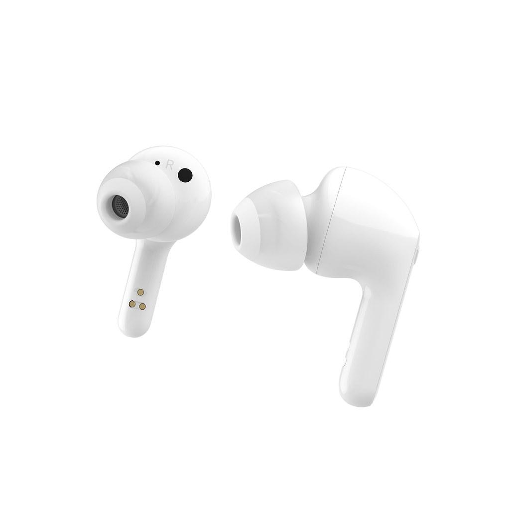05 - LG TONE Free FN7 真無線藍牙耳機與英國知名音響品牌「MERIDIAN」合作調音技術,獨特 Headphone Spatial Processing (HSP) 重現真實音場,提供 MERIDIAN 特有寬闊環繞的立體空間音效。