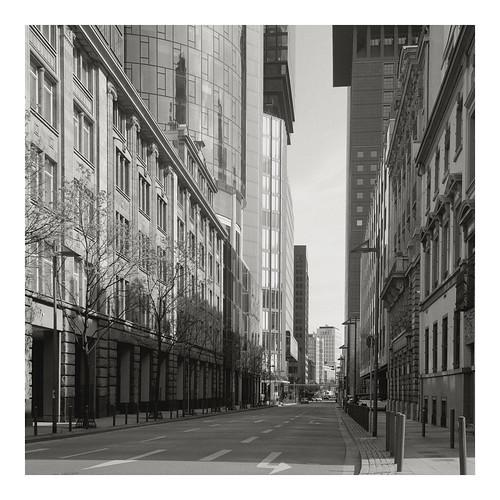 Blick in die Neue-Mainzer-Straße