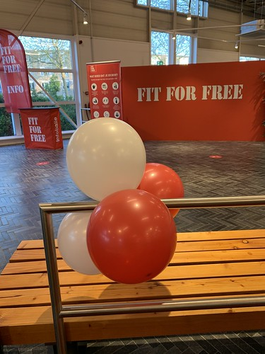 Ballontoef Opening FIT FOR FREE Spijkenisse