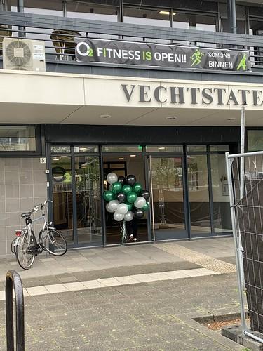 Heliumballonnen Opening O2 Fitness Ridderkerk