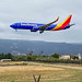 First Southwest 737-800 into Santa Barbara