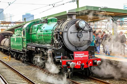 Steam Engine 3642.