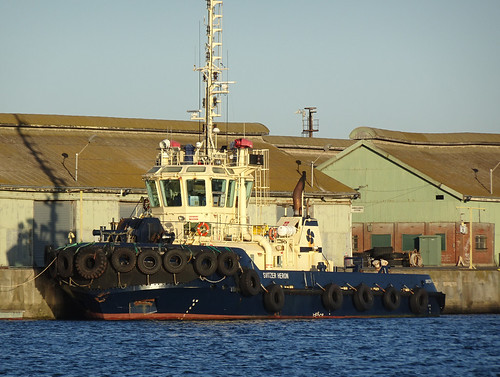 Tug with Tyres