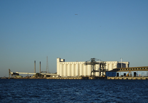 Silos on the Port River