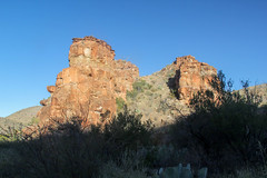 Blue Creek Canyon Geology