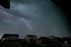 May 17, 2021 - A stunning sky and bolt in Thornton. (Jessica Fey)