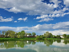 May 20, 2021 - A beautiful spring day in Thornton. (LE Worley)
