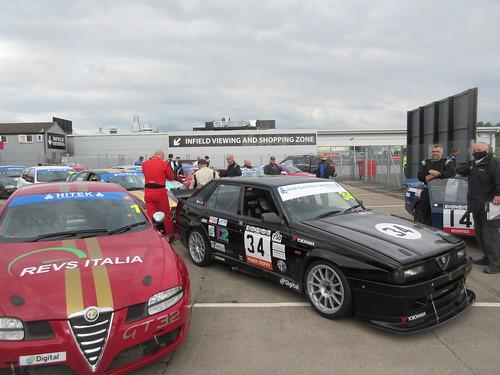 Alfa Romeo Championship - Donington 2021