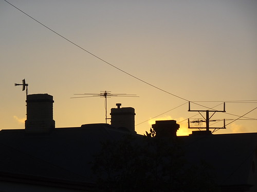 Chimney Silhouette