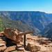 Grand Canyon National Park: N Kaibab Trail Coconino Overlook 0477e