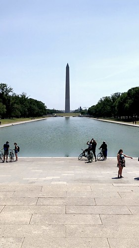 Washington Monument (Reflecting Pool) - Washington D.C - May 2021 - #dc #washingtonDC #DistrictofColumbia #walkwithlocals #creativeDC  #202 #DowntownDC