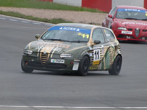 Andrew Fulcher had a competitive day at Donington