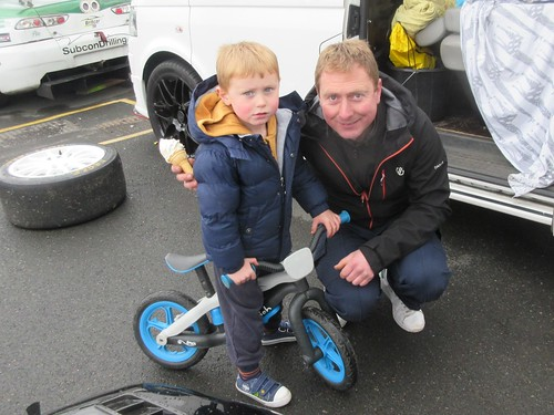 There were three generations of Haywood at Donington