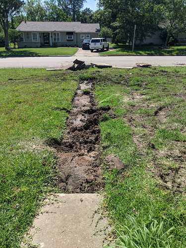 Fixing the Drainage Issues, Day 1
