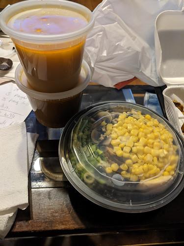 Dinner from Tanaka Ramen