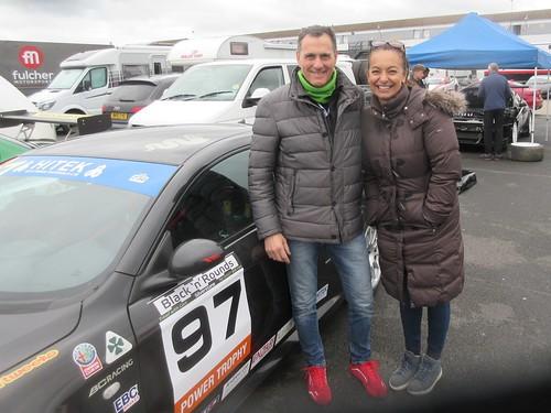 Very welcome newcomers Gabriele and Shana Iaccarino