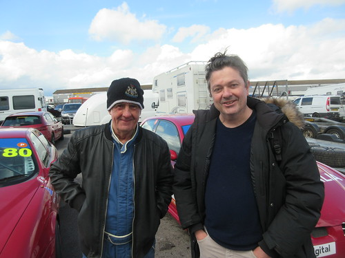 Good to see Peter Sloan (rt) with Andy Inman