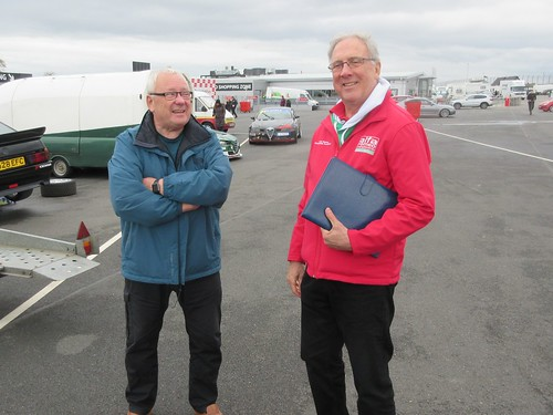 Keith and Andy - had they decided their Driver of the Weekend yet