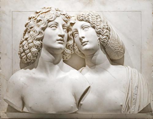 """Bacchus et Ariane"" de Tullio Lombardo (Musée du Louvre, Paris)"