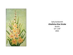 """Gladiolus One Stroke • <a style=""""font-size:0.8em;"""" href=""""http://www.flickr.com/photos/124378531@N04/51208054442/"""" target=""""_blank"""">View on Flickr</a>"""