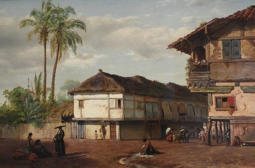 NEW YORK HISTORICAL SOCIETY MIGNOT PAINTING (1859)