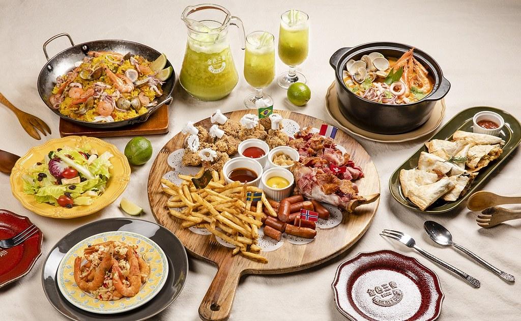 誠品生活集結逾百家餐廳美食,於線上推出「防疫享食送到家」專區|圖為金色三麥提供外送服務|inline外帶限時66折