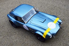 Another stunning Cobra 289 FIA historic racecar has just arrived.