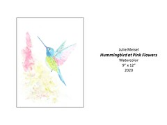"""Hummingbird at Pink Flowers • <a style=""""font-size:0.8em;"""" href=""""http://www.flickr.com/photos/124378531@N04/51208768831/"""" target=""""_blank"""">View on Flickr</a>"""