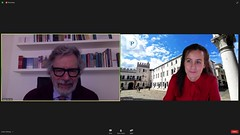 "Gostitelja konference - Prof. Diego De Leo in Prof. Vita Poštuvan • <a style=""font-size:0.8em;"" href=""http://www.flickr.com/photos/102235479@N03/51208975789/"" target=""_blank"">View on Flickr</a>"