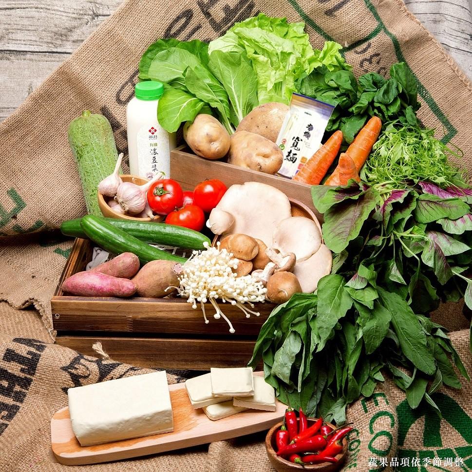 誠品知味生鮮食品直送業績翻10倍!即日起也於誠品線上推出「力新有機蔬果箱」|定價1,200-1,800元