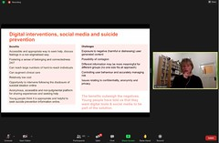 """Prof. Jo Robinson - Youth suicide prevention across settings • <a style=""""font-size:0.8em;"""" href=""""http://www.flickr.com/photos/102235479@N03/51209280715/"""" target=""""_blank"""">View on Flickr</a>"""
