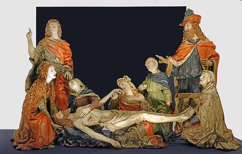 """""""Déploration du Christ"""" par les frères del Maino (Musée du Louvre, Paris)"""