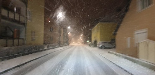Schneefahrbahn