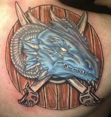Dragon tattoo (final version)