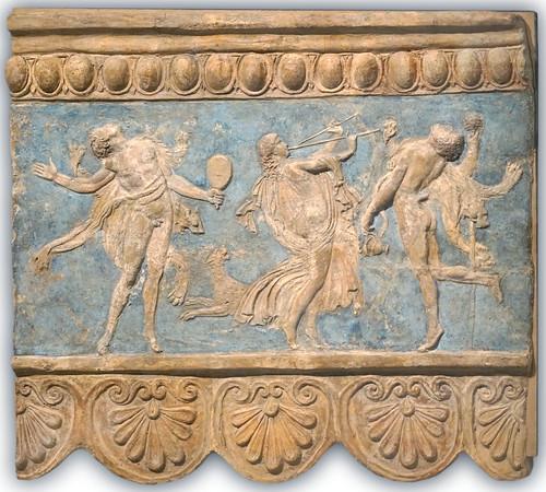 Plaque Campana, Thiase (musée du Louvre, Paris)