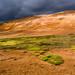 Colour contrast on Leirhnjúkur, Iceland