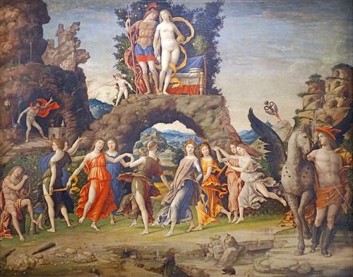 Le Parnasse d'Andrea Mantegna (Musée du Louvre, Paris)