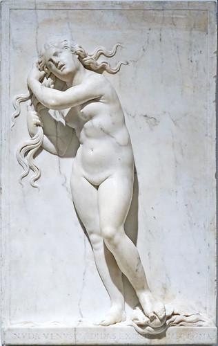 Vénus anadyomène d'Antonio Lombardo (Musée du Louvre, Paris)