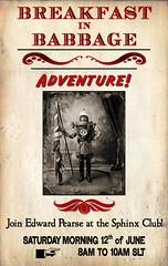 Breakfast in Babbage: Adventure!