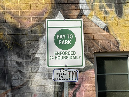 Pay to Park, Downtown Las Vegas, May 2021