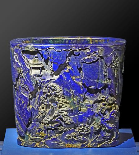 Pot à pinceaux, Bitong (Musée des arts décoratifs, Paris)