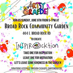 *CHILDRENS ROCK PAINTING JUNE 6TH 5-7PM!!* Join @sweedei Dei Johnson published book author and illustrator THIS SUNDAY  June 6th 5-7pm during our normal workday for children's rock painting. Kids will be able to keep a rock and leave one for our gardening