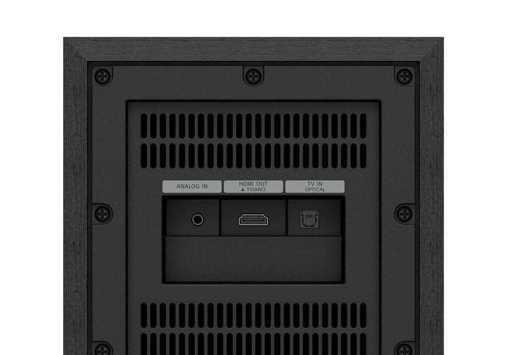 圖 3) HT-S40R輸入介面支援HDMI ARC、光纖與3.5mm類比連接埠