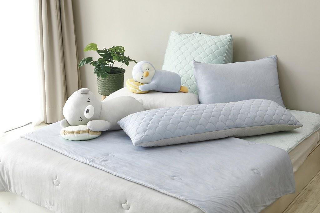 HOLA snow touch涼感造型抱枕系列