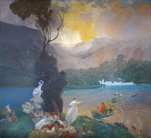 L'île heureuse d'A. Besnard (Musée des arts décoratifs, Paris)