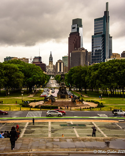 Atop the Rocky Steps