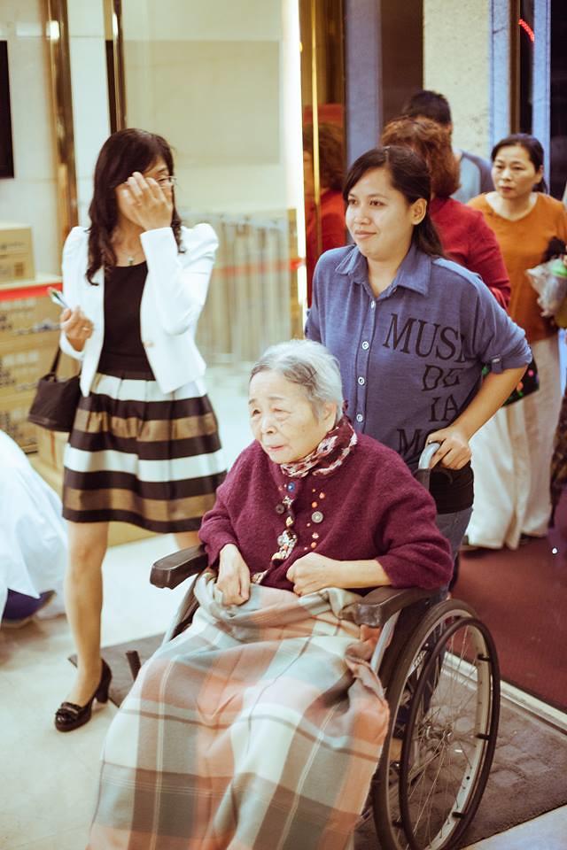 婚禮攝影,外婆